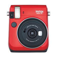 Fujifilm Instax Mini 70 Fuji Instant Film Camera Red