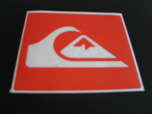 Quiksilver Vinile Surf Windsurf Auto Camper Adesivo Decalcomania Grafica 100mm,
