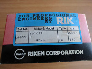Piston-Rings-Set-for-Toyota-Dyna-Toyoace-B-Engine-3-0D-95mm-4-rings-per-piston