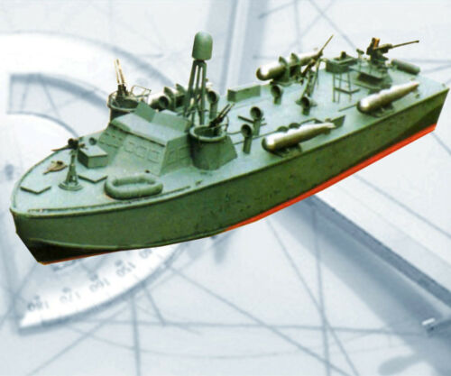 Model Boat Plans 1/32 Scale Higgins 200 78; PT Boat Radio Control Printed Plans