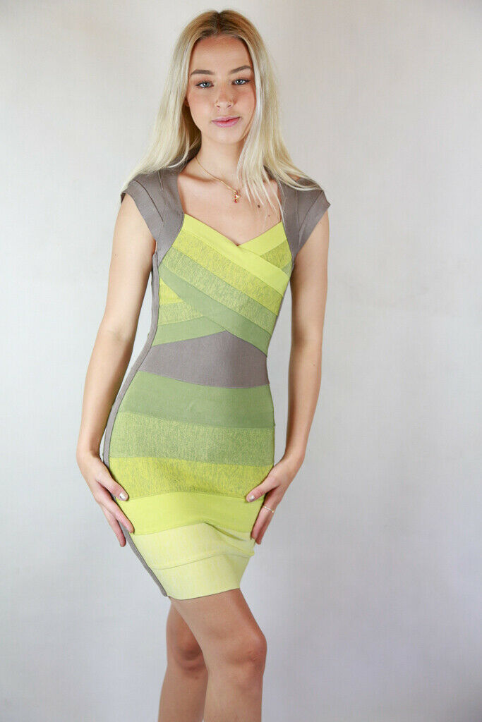NEW- Ombre Bandage Dress- Größe XS