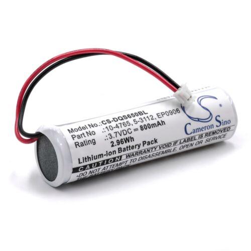 Akku Batterie 800mAh für Datalogic QuickScan 10-4765 EP0906 5-3112