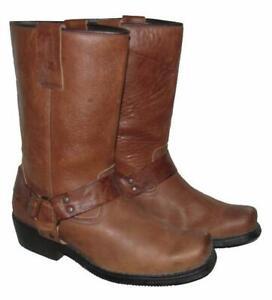 """"""" KOCHMANN """" Western- Stiefel / Herren- Lederstiefel / Biker- Boots braun Gr. 43"""