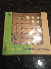 CHINESE CHECKERS BAMBOO GAME ECO SERIES POCKET GAMES BRAIN PUZZLE NOVELTY TOY