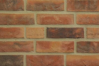 Fassade Baustoffe & Holz Angemessen Handform-verblender Nf Bh928 Braun-rot-bunt Klinker Vormauersteine Mild And Mellow