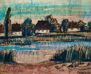 Vegesack, Rupprecht von/1917Dorpat-1976Maasholm/Ilmenau-Landschaft(bei Lüneburg)