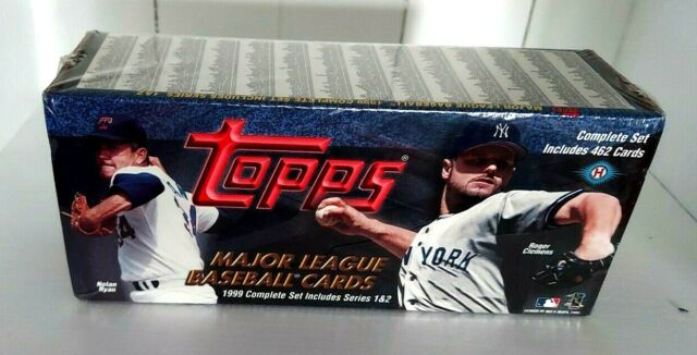 1999 Topps Baseball Sealed Factory Set Complete Hobby Box 462 Cards
