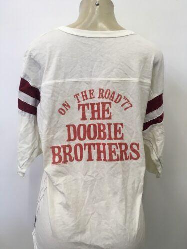 DOOBIE BROTHERS WOMEN/'S FOOTBALL t  SHIRT 3//4 new