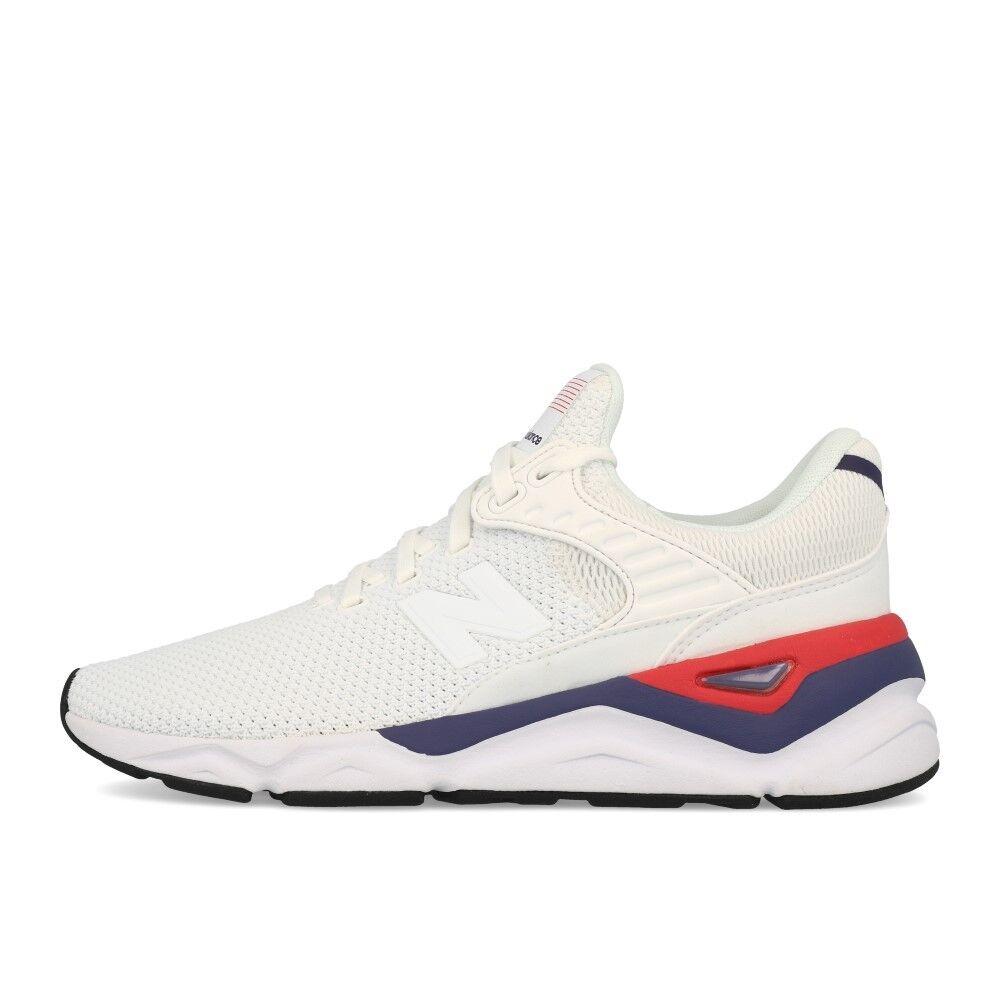 newest 8bf9f 78277 New Schuhe Balance WSX 90 CLA Weiß Schuhe New Turnschuhe Weiß Blau Rot  a70810