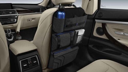 Original BMW rejettent sac sitzorganizer rejettent protection Auto Organizer