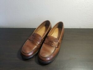 e1830ee83e2629 G.H. Bass   Co. Men s Penny Loafer Tan Brown Leather Dress Shoes US ...