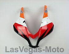2007-2012 Honda CBR600rr CBR 600 Upper Front Nose Cowling Fairing Repsol