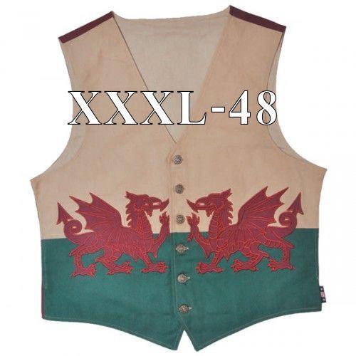 Wales Flag Waistcoat   Dragon Welsh   rot Dragon    Vest   Baner Cymru   Y Ddraig Goch 0b4f46