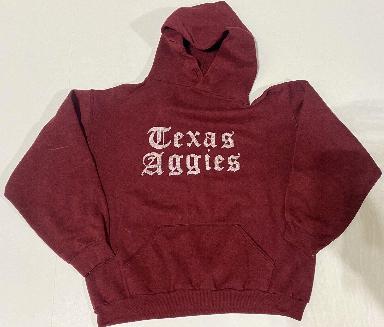 Vintage 70s Russell Athletic Texas Aggies Hoodie … - image 1