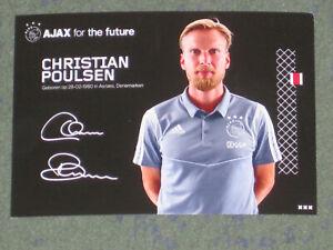 DÄNEMARK Christian Poulsen (Ajax) Schalke Liverpool Juventus OHNE UNTERSCHRIFT