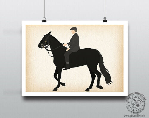 PEAKY BLINDERS Thomas Shelby Horse Minimalist Poster Posteritty Minimal Print
