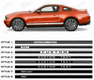 Ford-Mustang-Side-Rocker-Panel-Stripes-Decals-2010-2011-2012-2013-2014-Pro-Motor