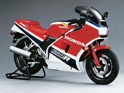 HONDA VFR1000R VINTAGE MOTORCYCLE MOTORBIKE POSTER BROCHURE ADVERT A3