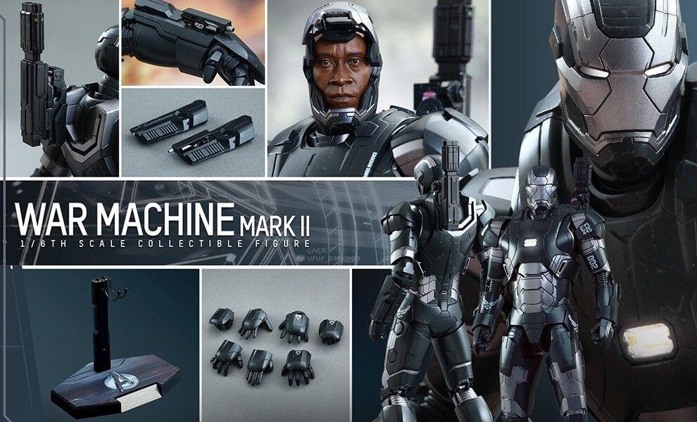 Hot Toys-MMS290 máquina de guerra Mark II figura de escala 16 Diecast-Exclusivo nuevo