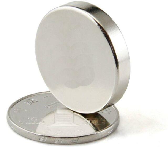 2pcs Big N50 disc 22X5mm Neodymium Permanent super strong Magnets rare earth