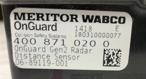 Details about S400-871-020-0 MERITOR WABCO RADAR SENSOR 2G ONGUARD GEN 2  FREIGHTLINER CASCADIA
