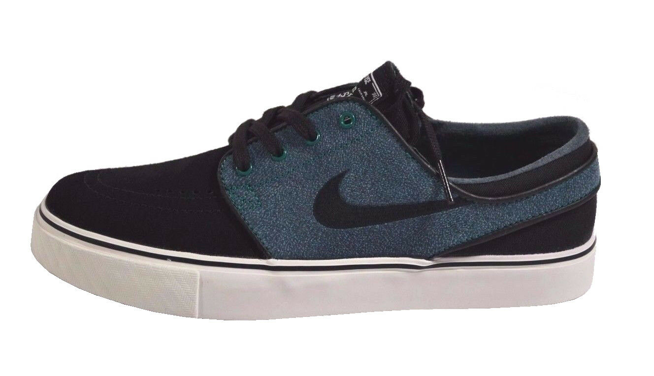Nike ZOOM STEFAN JANOSKI Noir Mystic Vert Ivory 333824-031 (430) Homme Chaussures