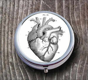 ANATOMICAL-HEART-VINTAGE-PILL-BOX-ROUND-METAL-cfr6Z
