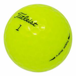 12-Titleist-Tour-Soft-Yellow-Near-Mint-Used-Golf-Balls-AAAA
