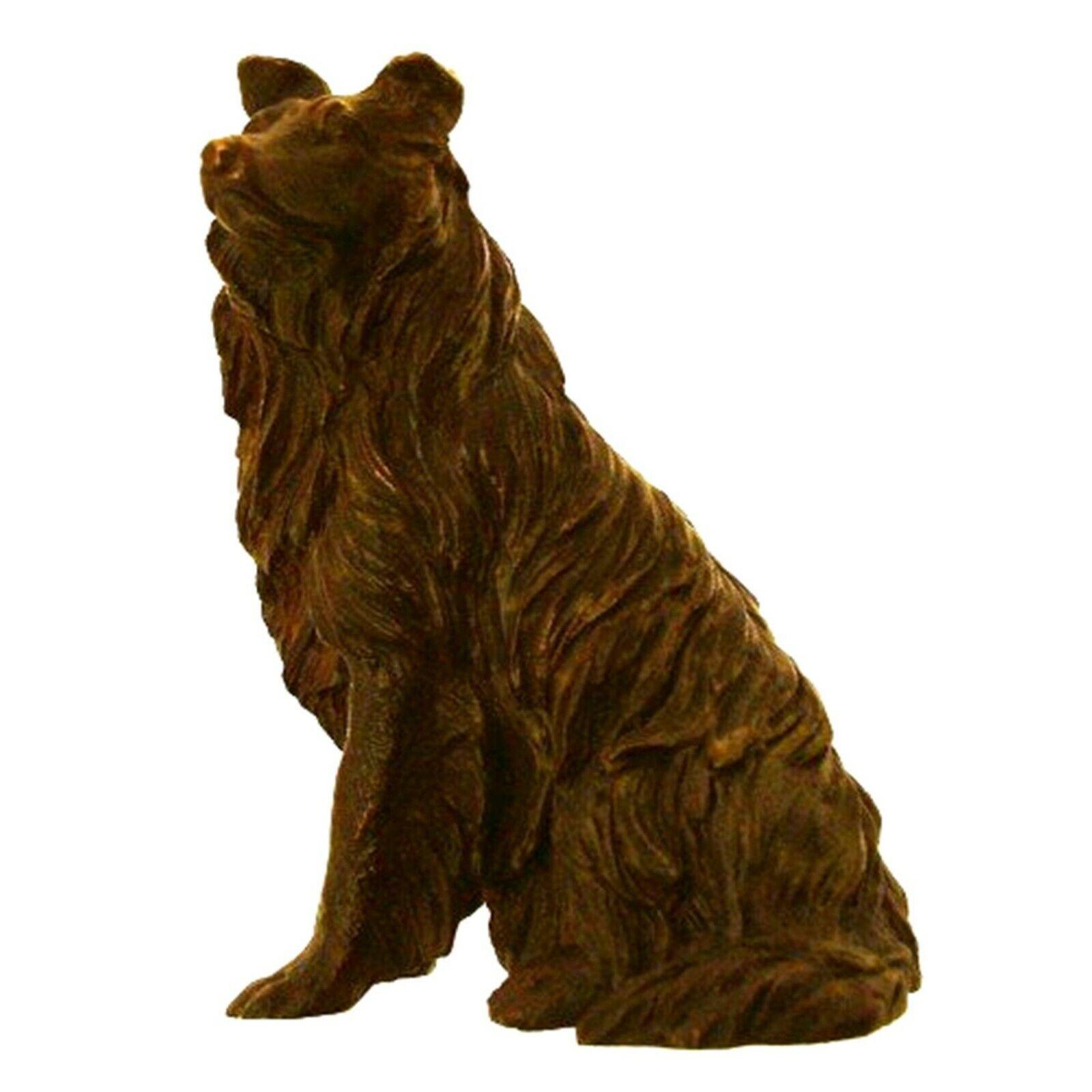 Collie Figurines Collie Dog Bronzes Sculptures Collie Ornamants