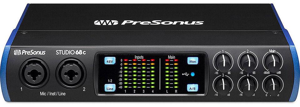 Presonus Studio 68c Audio Interface USB-C