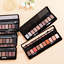 Makeup-Matte-Smoky-Eye-Shadow-Powder-Cream-Eyeshadow-Cosmetic-Brush-Palette-Set thumbnail 2
