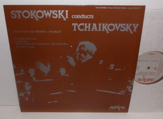 DA 9006 Tchaikovsky Francesca Da Rimini Stokowski 45 RPM Nimbus Audiophile