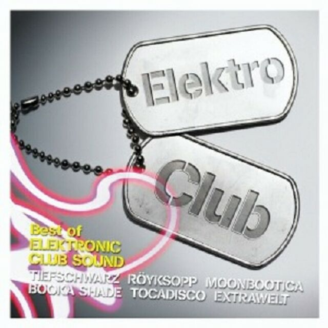 ELEKTROCLUB VOL. 1 - BEST IN ELECTRONIC... 2 CD NEUWARE