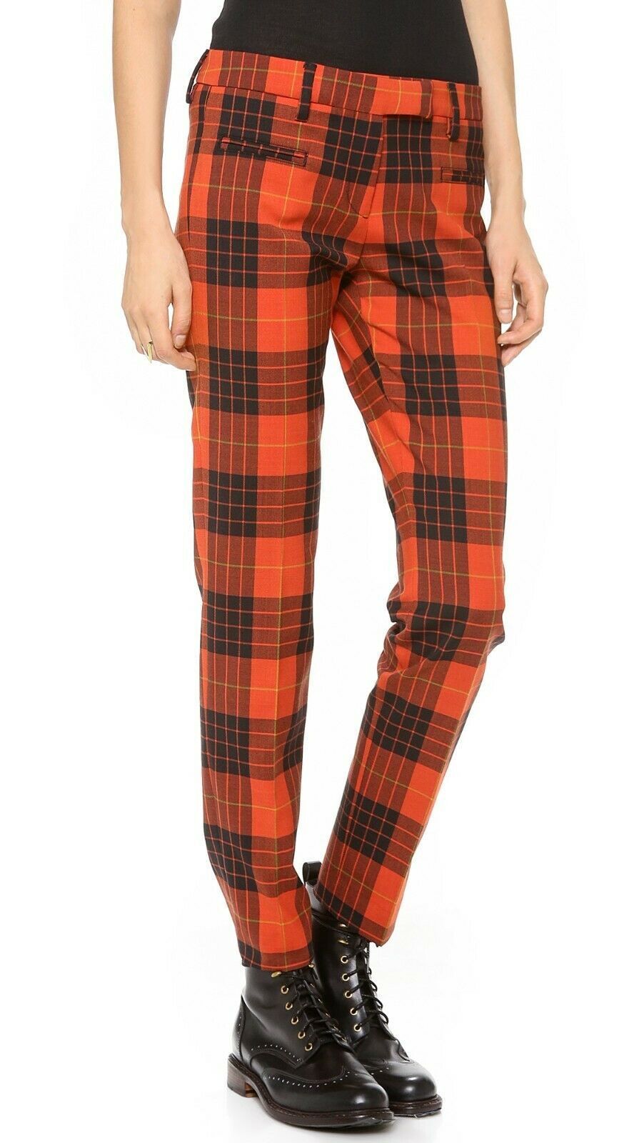 True Royal Tartan Plaid Wool Pants BNWT