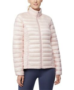 32 Degrees Womens Packable Down Puffer Coat Pale Lilac Large Pink Jacket