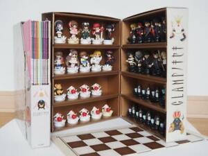 Clamp no Kiseki Figure Chess 38 Pieces Set Complete BOX KOUDANSHA 2004