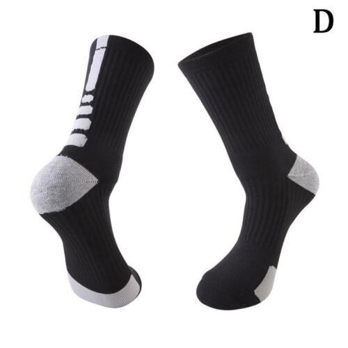 5x Dri Fit Hyper Elite Crossover gepolstert Basketball Mannschaft Socken Mä I1A8