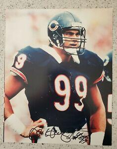 Dan Hampton Signed Autographed 8x10 Photo Chicago Bears