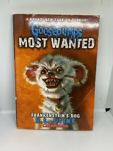Frankenstein-039-s-Dog-Goosebumps-Most-Wanted-4-Paperback-By-Stine-R-L-GOOD