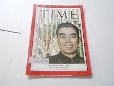 MAY 10 1954 TIME news magazine RED CHINA CHOU EN-LAI