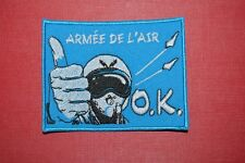 insigne militaire patch armée écusson Armée de l'Air aviation pilote avion