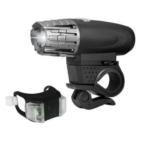 Fahrradlicht Set Fahrradbeleuchtung Fahrad Scheinwerfer USB Wiederaufladbare ADE