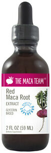 Red Maca Liquid Extract - Alcohol Free - Made from Red Maca Roots from Peru
