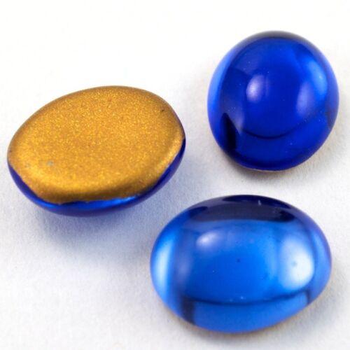 8mm x 10mm Sapphire Oval Cabochon #FGG017