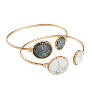 Fashion-Style-Stone-Charm-Bracelet-Adjustable-Bangle-Cuff-Gift-For-Women