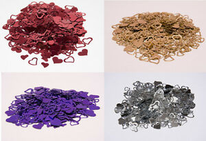 Mixed-Hearts-Wedding-Table-Confetti-Party-Decoration-Purple-Silver-Gold-Burg