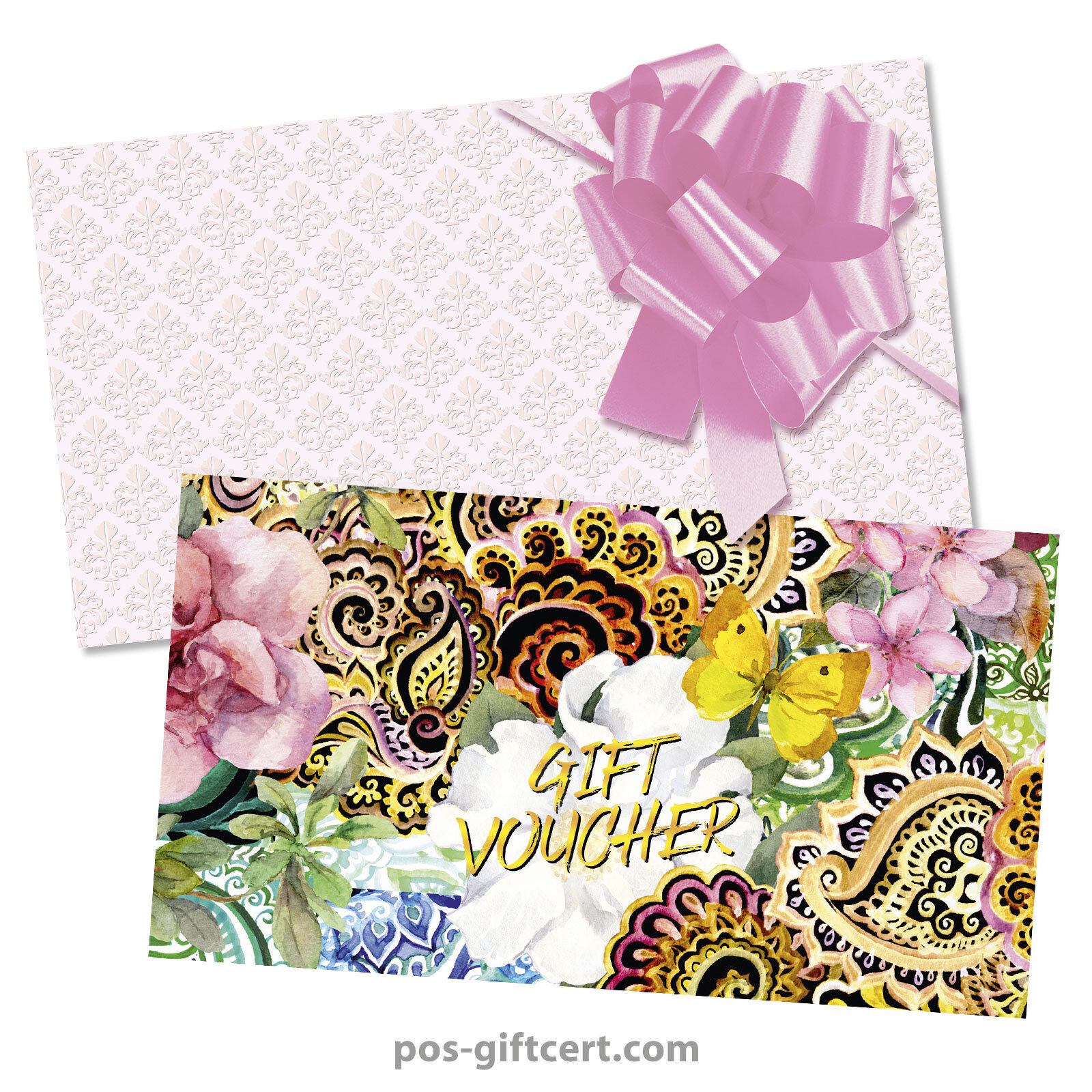 Universal Gift vouchers + envelopes + pull bows for all occasions FA264GB