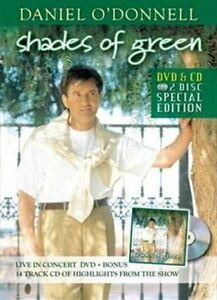 DANIEL-O-039-DONNELL-Shades-Of-Green-DVD-CD-BRAND-NEW-PAL-Region-All