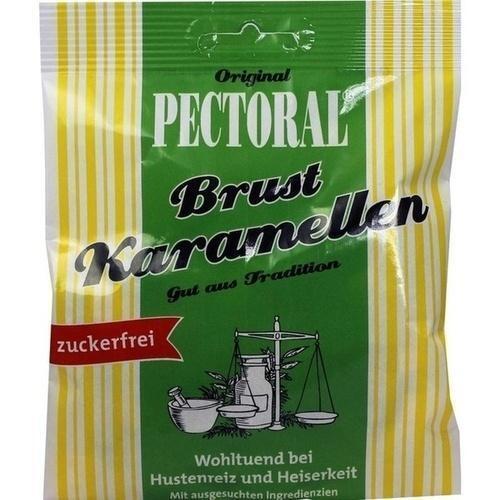PECTORAL Brustkaramellen zuckerfrei Beutel 60 g