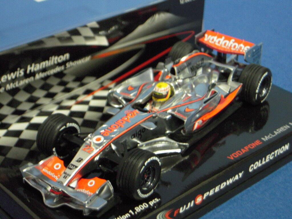 Minichamps 1 43 McLaren Mercedes Showcar Hamilton Fuji Speedway Collection